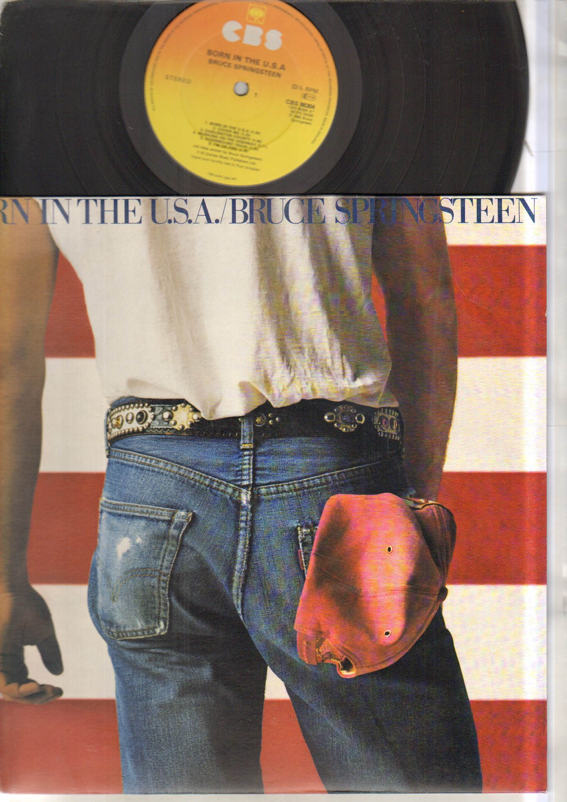 BRUCE SPRINGSTEEN - Born In The Usa Single