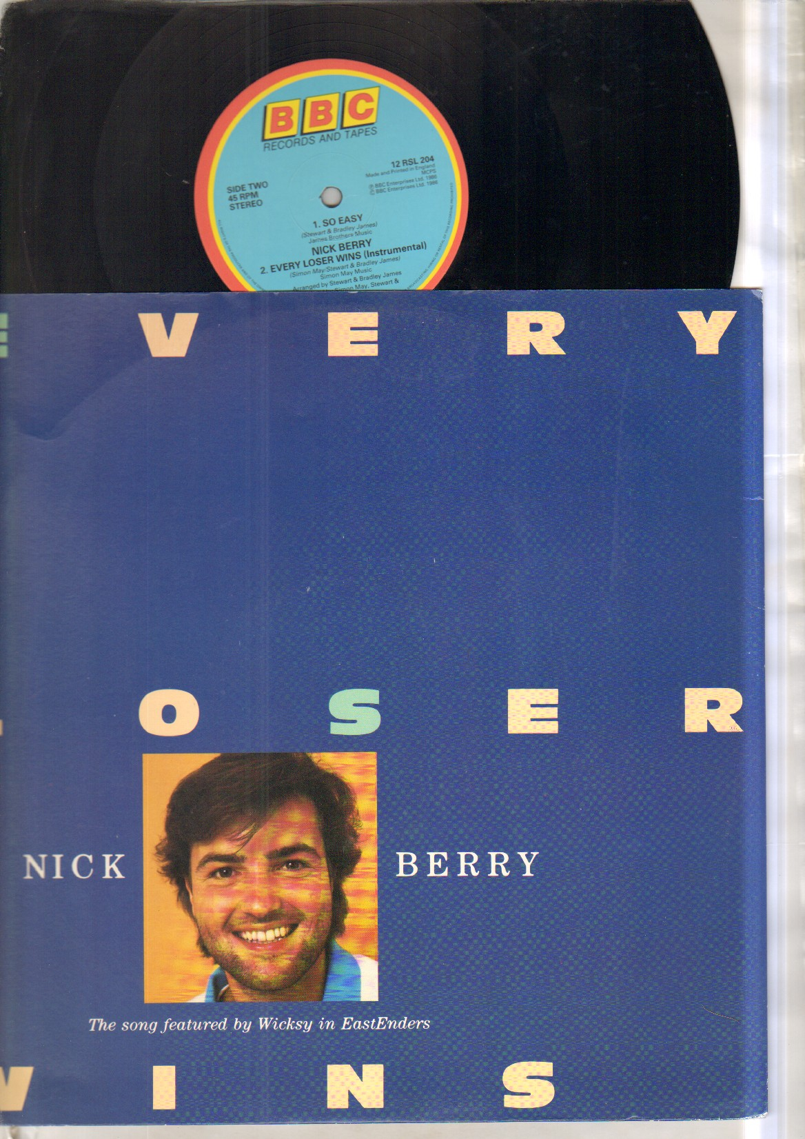 NICK BERRY - Every Loser Wins - Maxi 45T