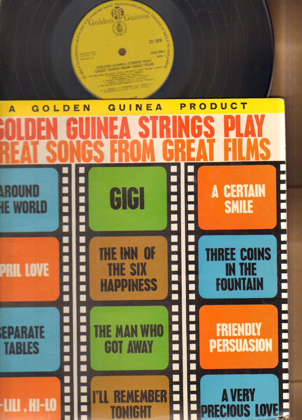 GOLDEN GUINEA STRINGS PLAY GREAT SONGS FROM GREAT FILMS