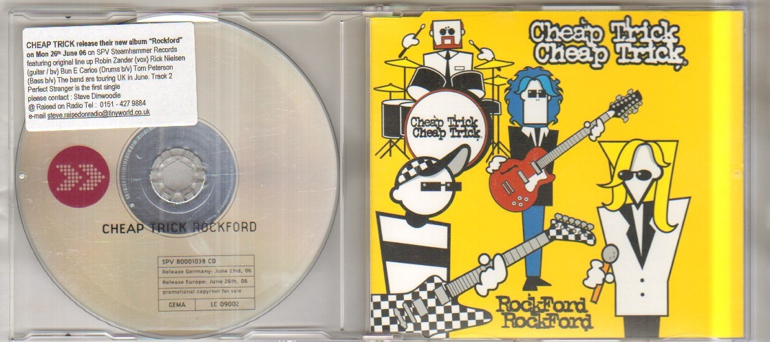 Cheap Trick Rockford Records Lps Vinyl And Cds Musicstack