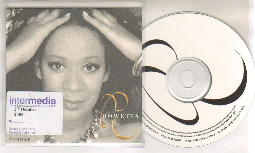 ROWETTA - 4 track album smapler