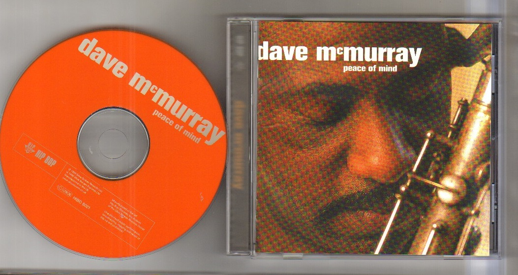 DAVE MCMURRAY - PEACE OF MIND - CD
