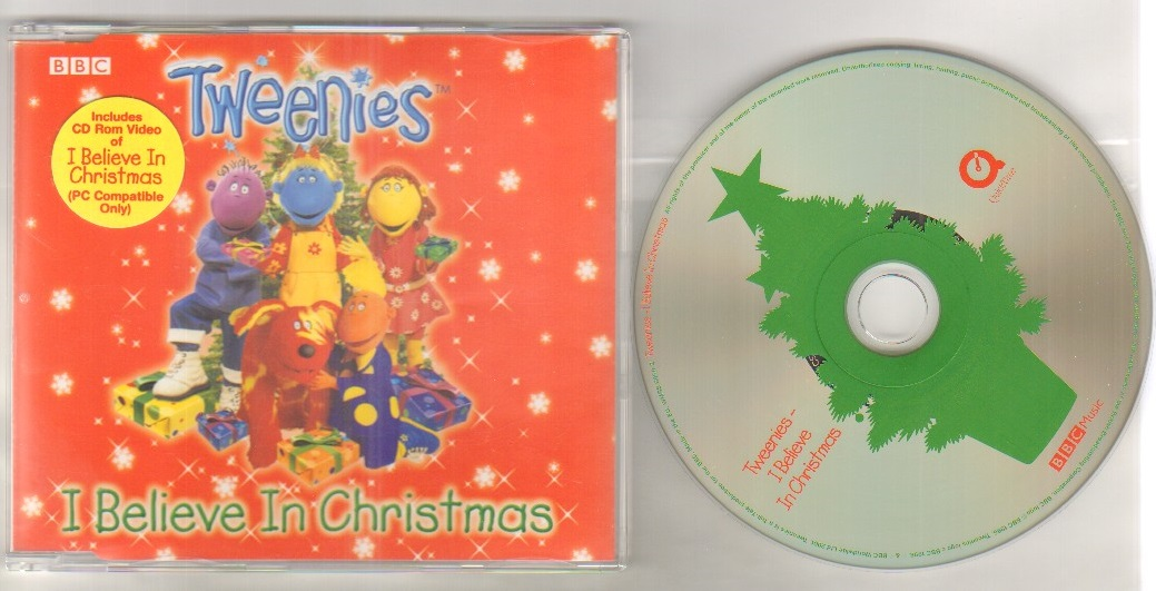 TWEENIES - I BELIEVE IN CHRISTMAS - enhanced CD single - CD