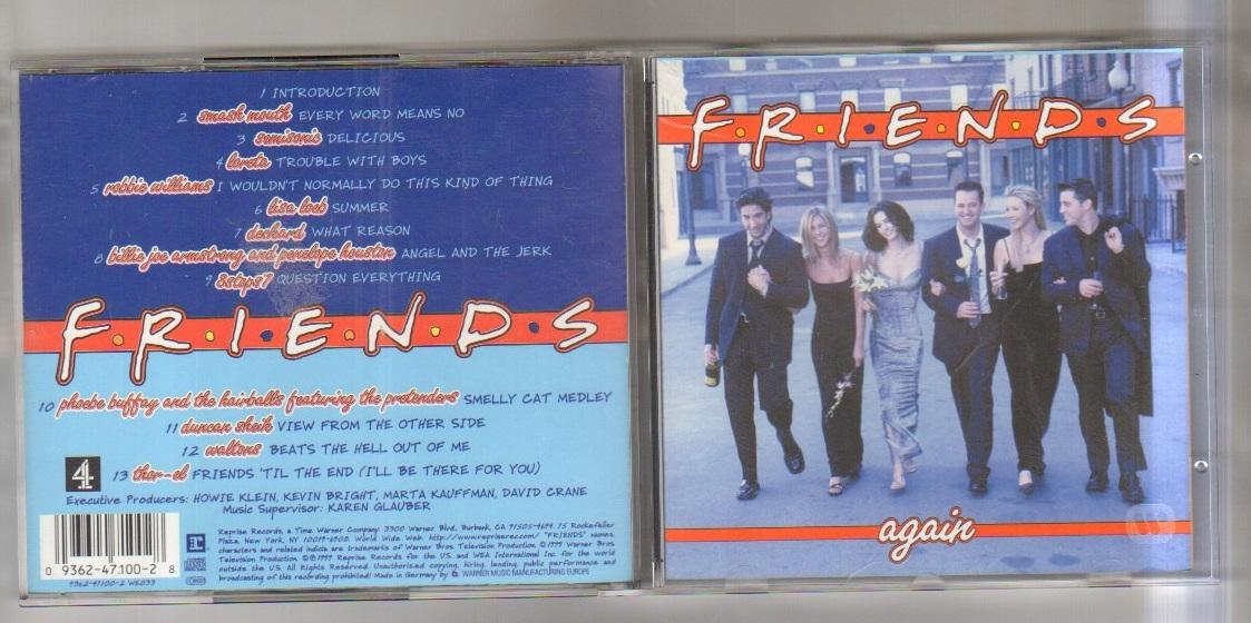 FRIENDS - FRIENDS AGAIN - CD