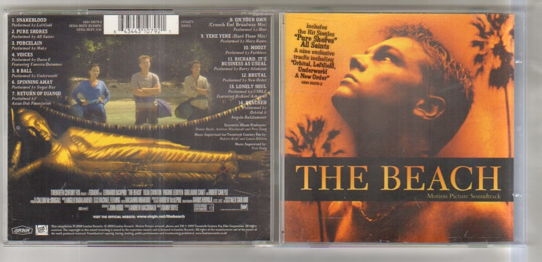 BEACH - THE BEACH - SOUNDTRACK CD - CD