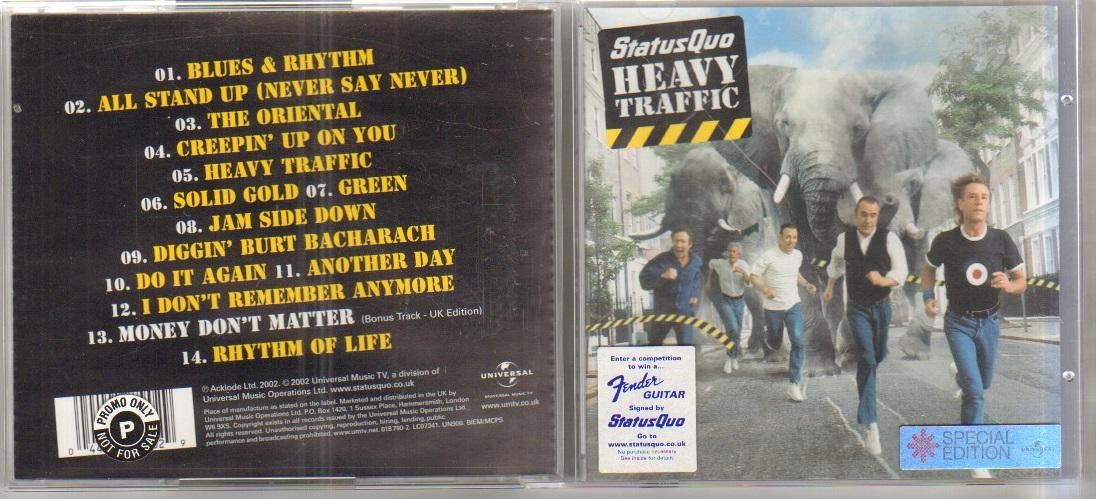 HEAVY TRAFFIC - CD abum