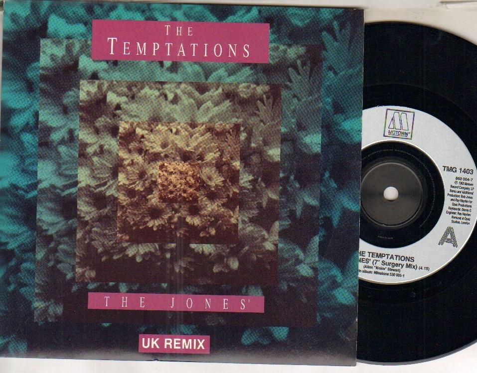 TEMPTATIONS - THE JONES - 45T (SP 2 titres)