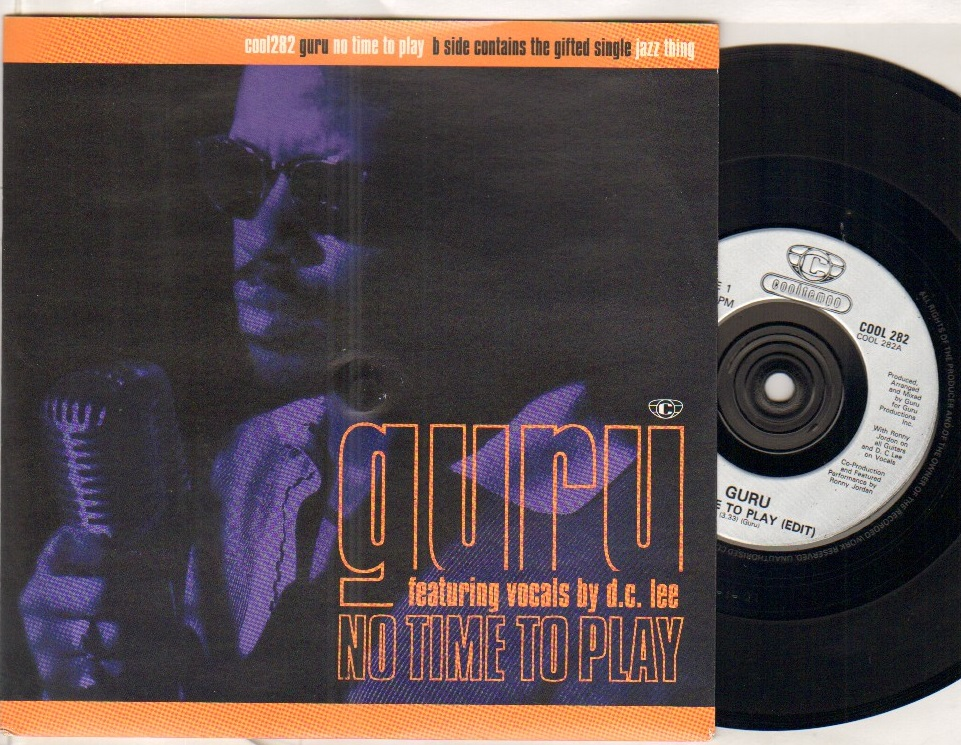 GURU - NO TIME TO PLAY - 45T (SP 2 titres)