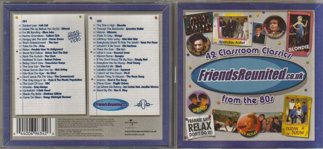 FRIENDS REUNITED - CD album