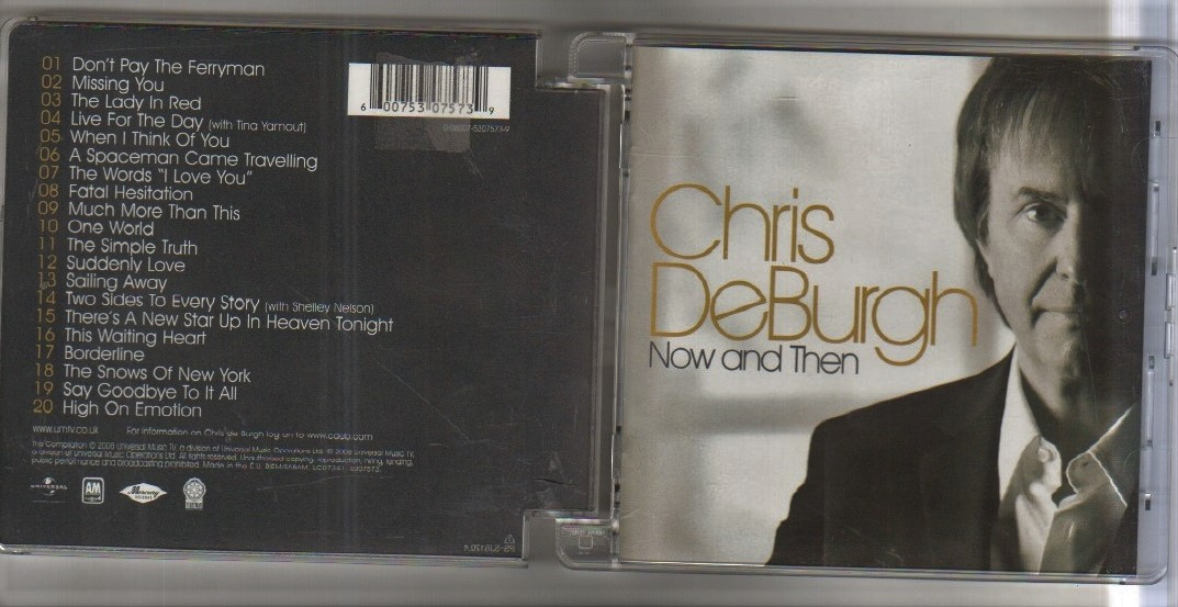 NOW AND THEN - CD album