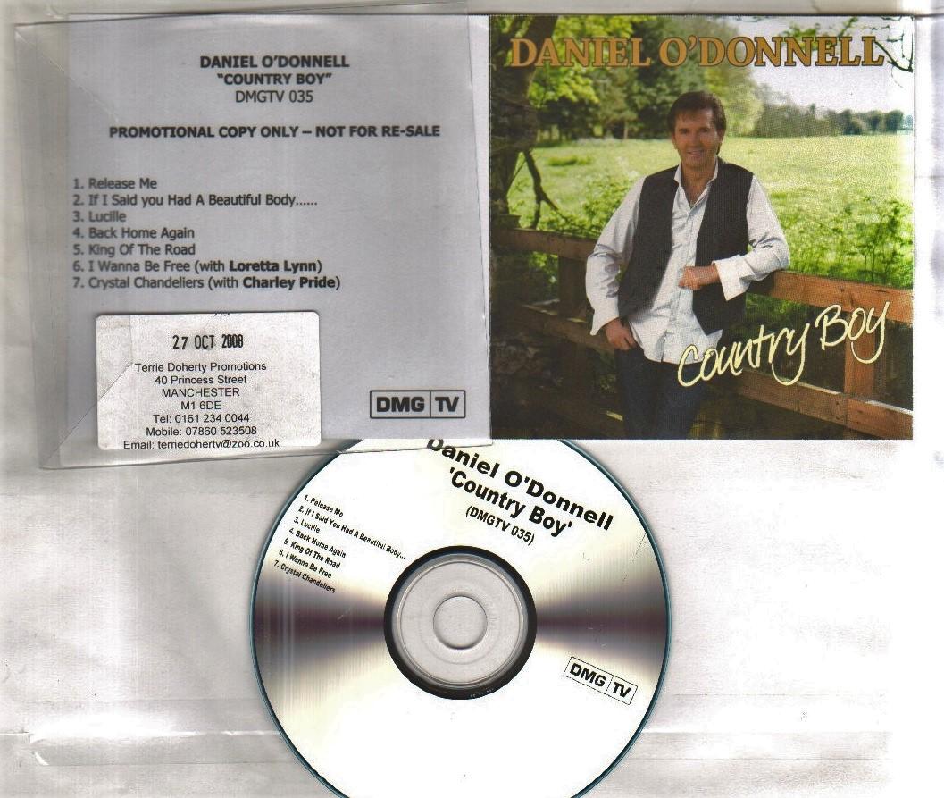 COUNTRY BOY - collectors cd smapler