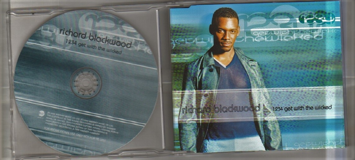 1234 GET WITH THE WICKED - 1 track cd single