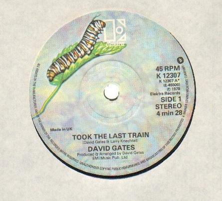 TOOK THE LAST TRAIN