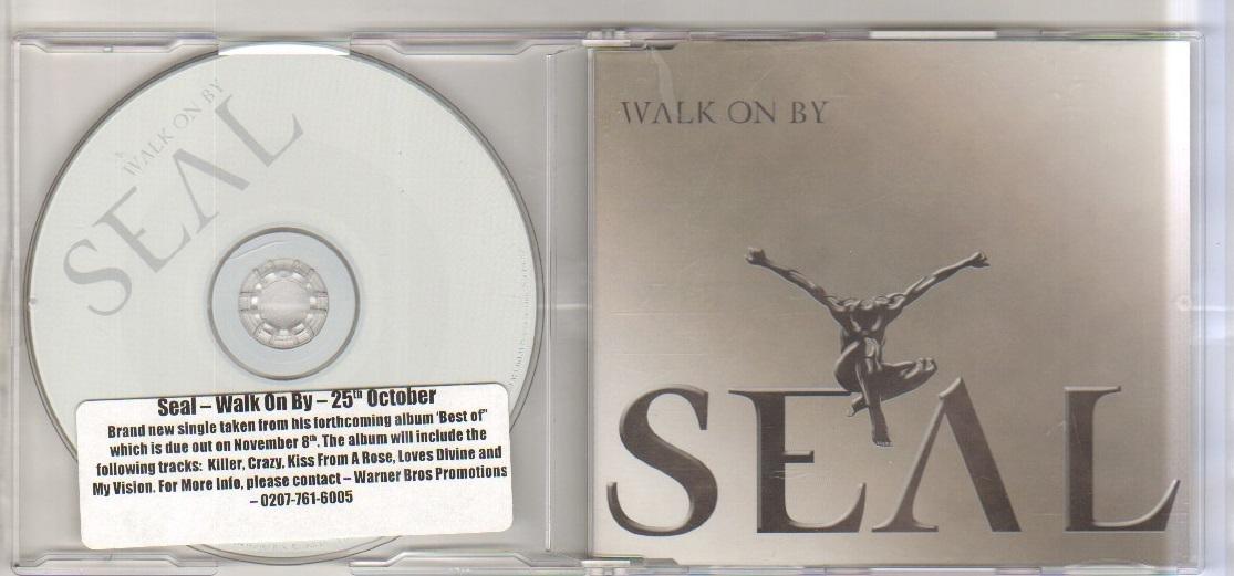 WALK ON BY - 1 trk cd