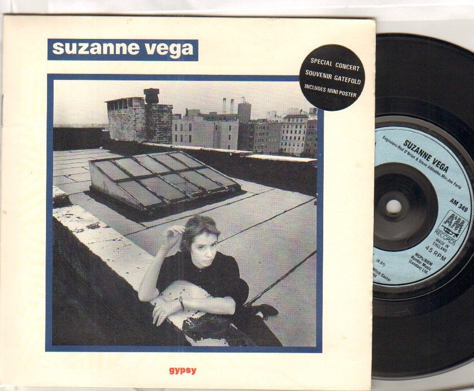 SUZANNE VEGA - GYPSY - 45T (SP 2 titres)