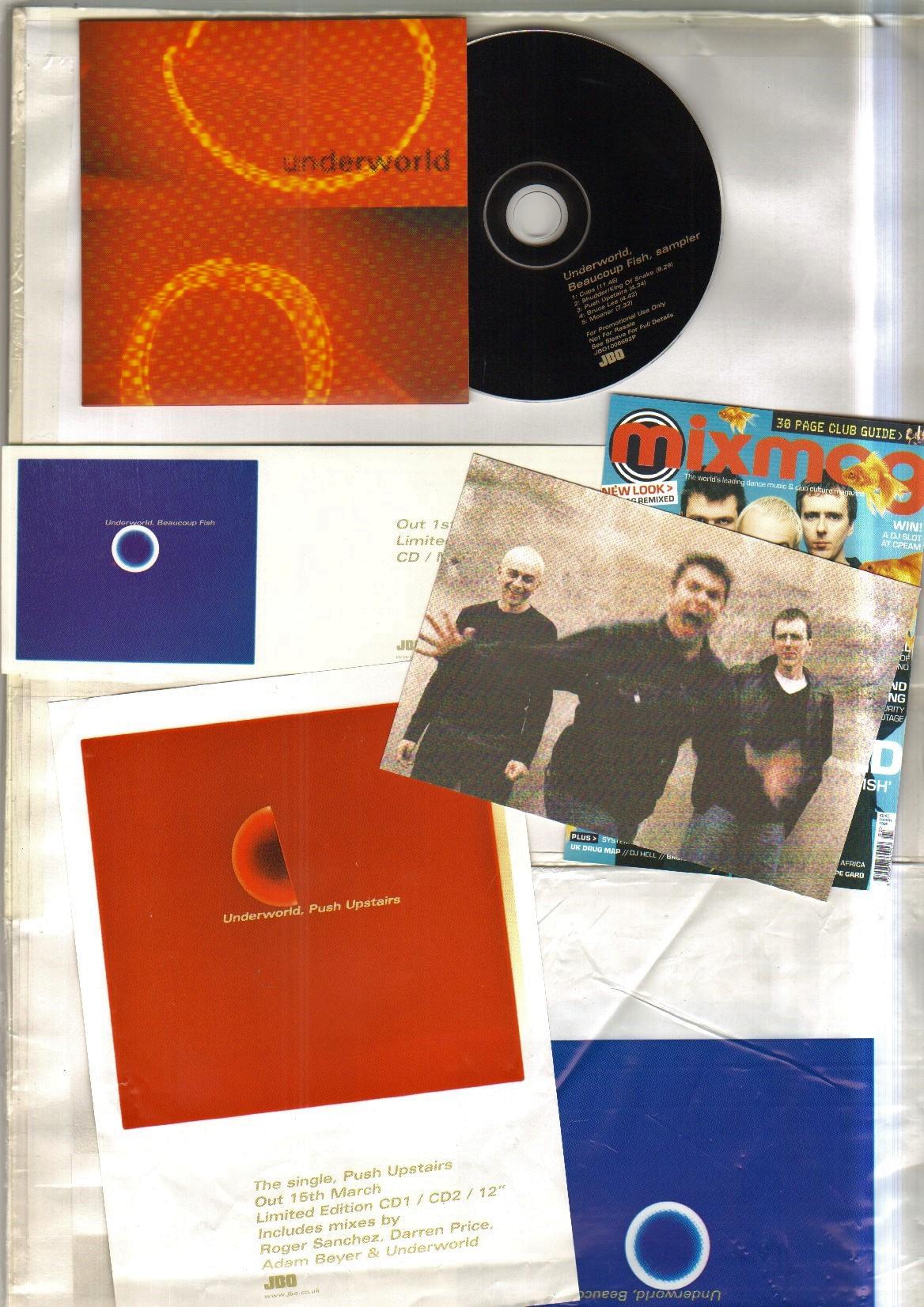 UNDERWORLD - BEAUCOUP FISH SAMPLER - CD
