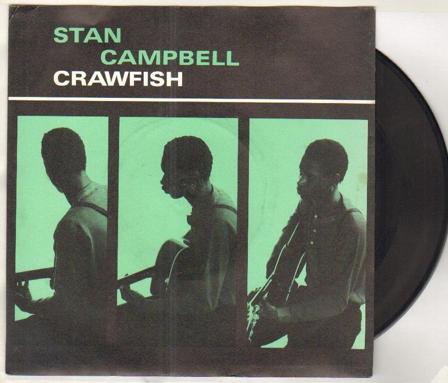 STAN CAMPBELL - CRAWFISH - 45T (SP 2 titres)