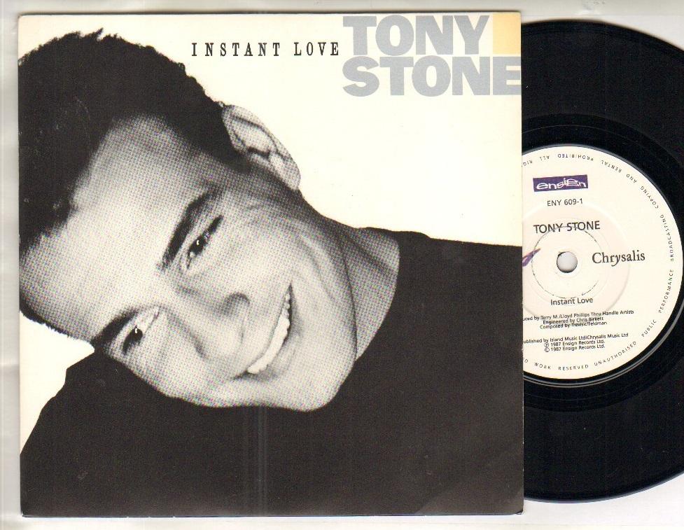 TONY STONE - INSTANT LOVE - 45T (SP 2 titres)