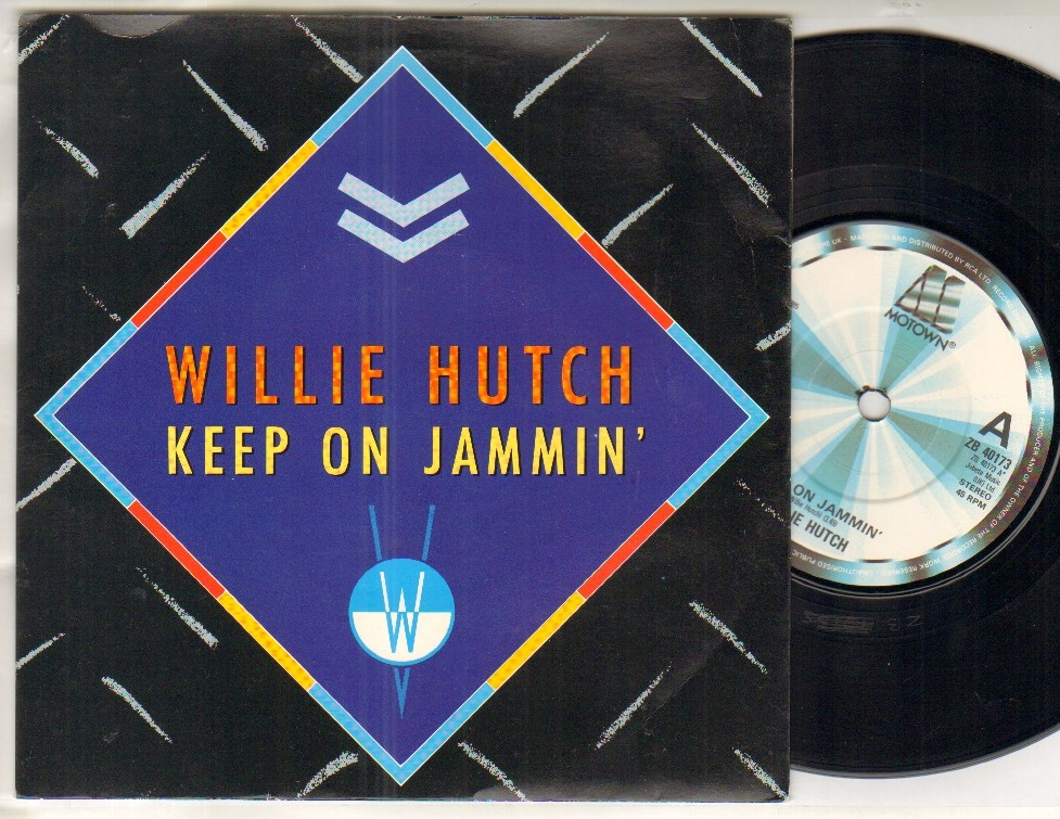 WILLIE HUTCH - KEEP ON JAMMIN - 45T (SP 2 titres)
