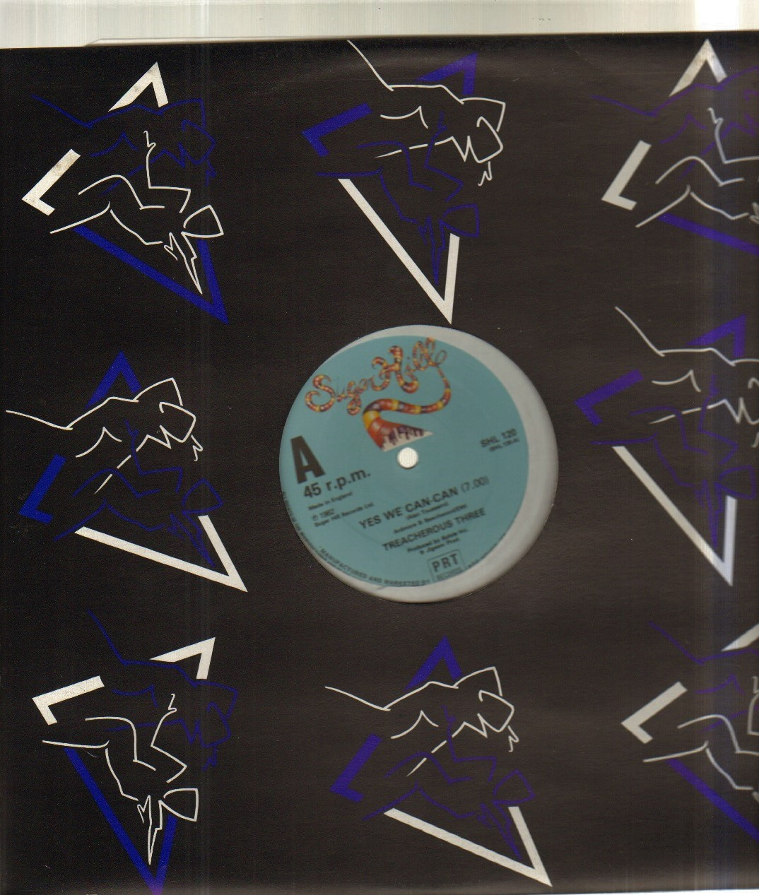 TREACHEROUS THREE - YES WE CAN CAN - Maxi 45T