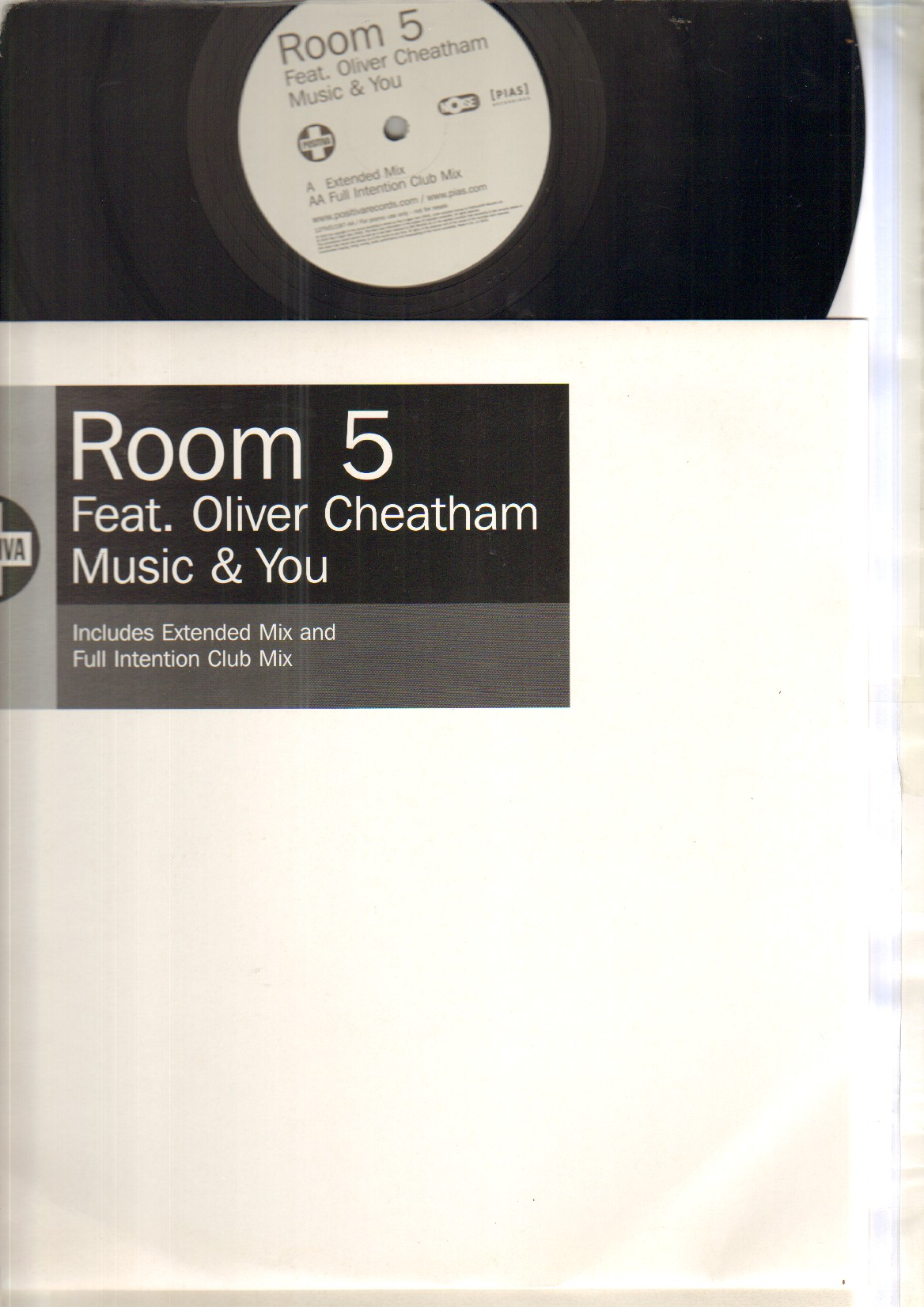 ROOM 5 - MUSIC AND YOU - Maxi 45T