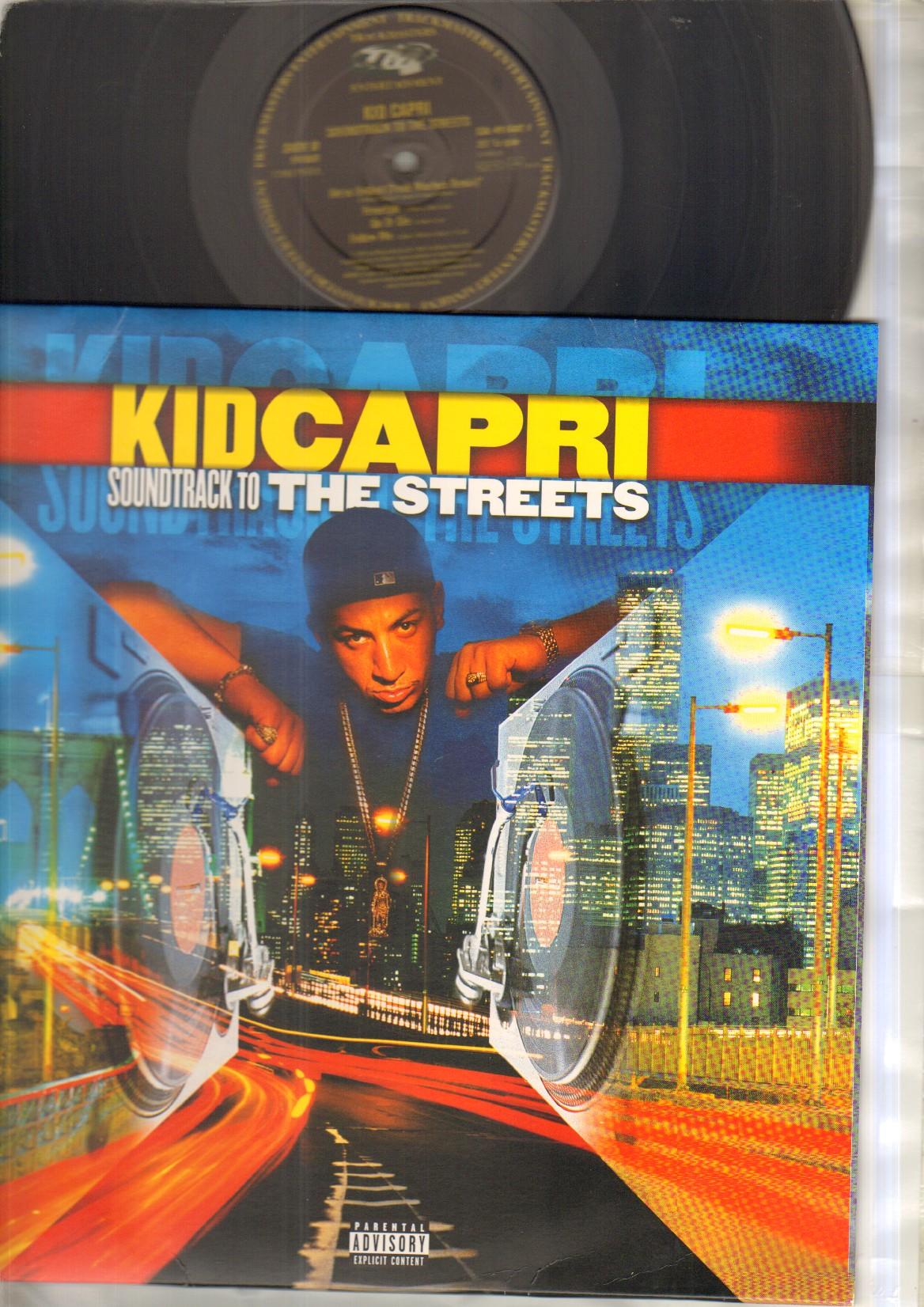 KID CAPRI - SOUNDTRACK TO THE STREETS - LP