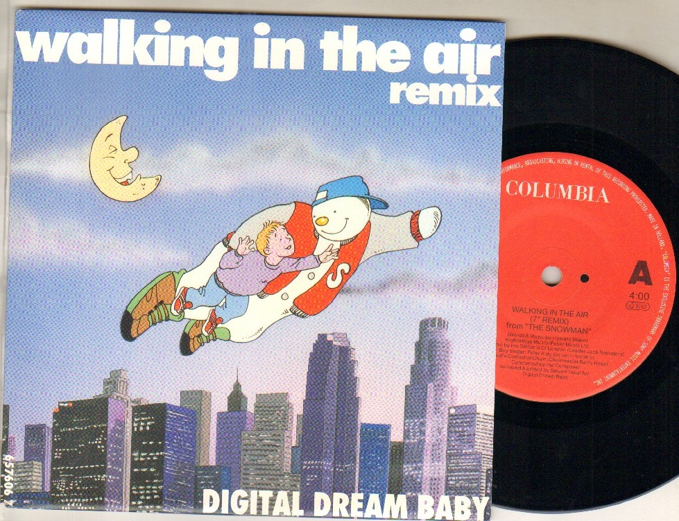 DIGITAL DREAM BABY - WALKING IN THE AIR - 45T (SP 2 titres)