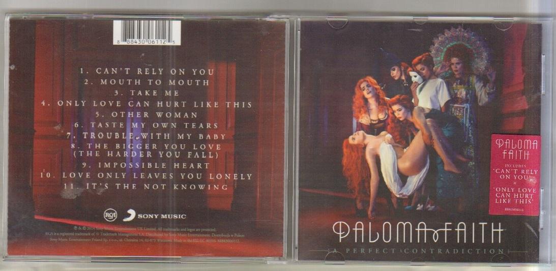 PALOMA FAITH - PERFECT CONTRADICTION - CD
