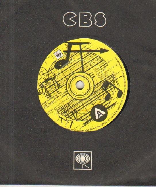 RADIO CLASH - cbs sleeve