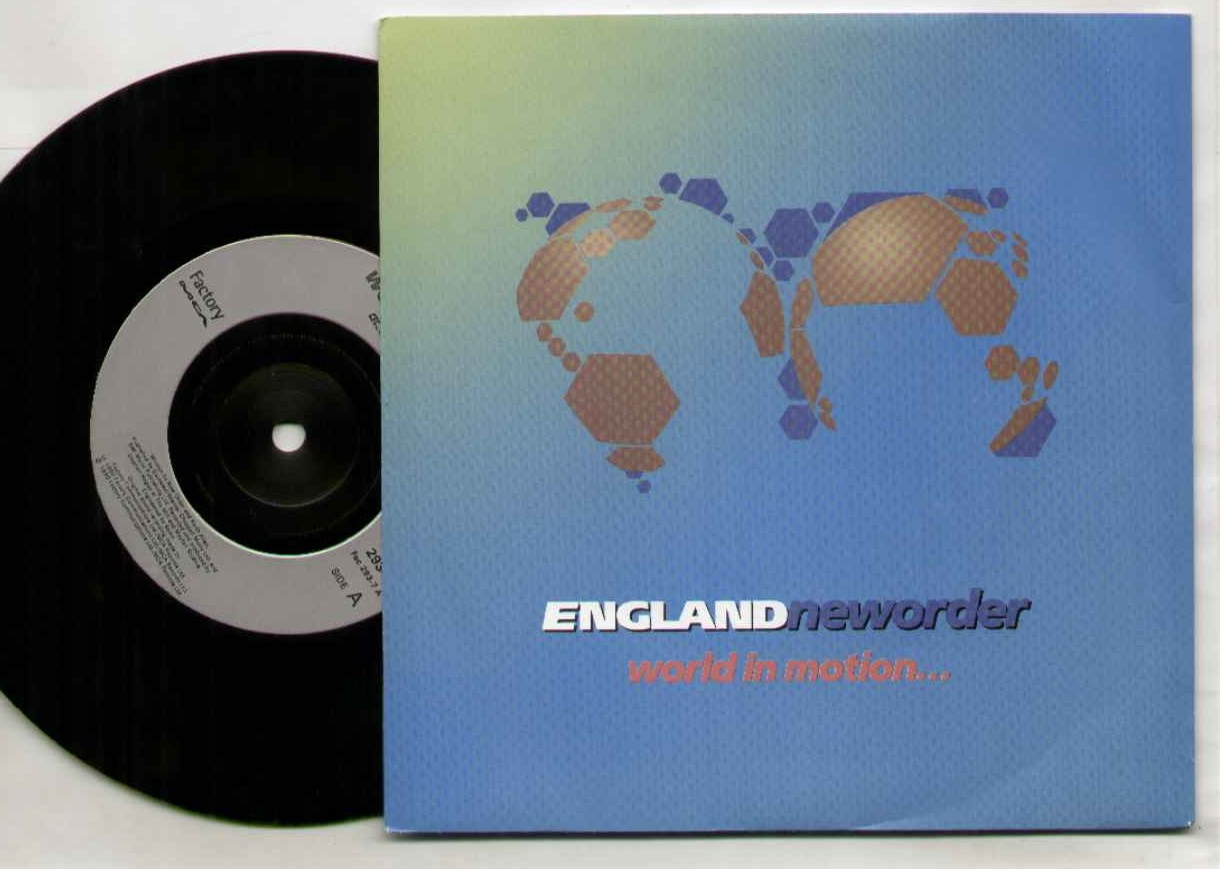 NEW ORDER - World In Motion Vinyl