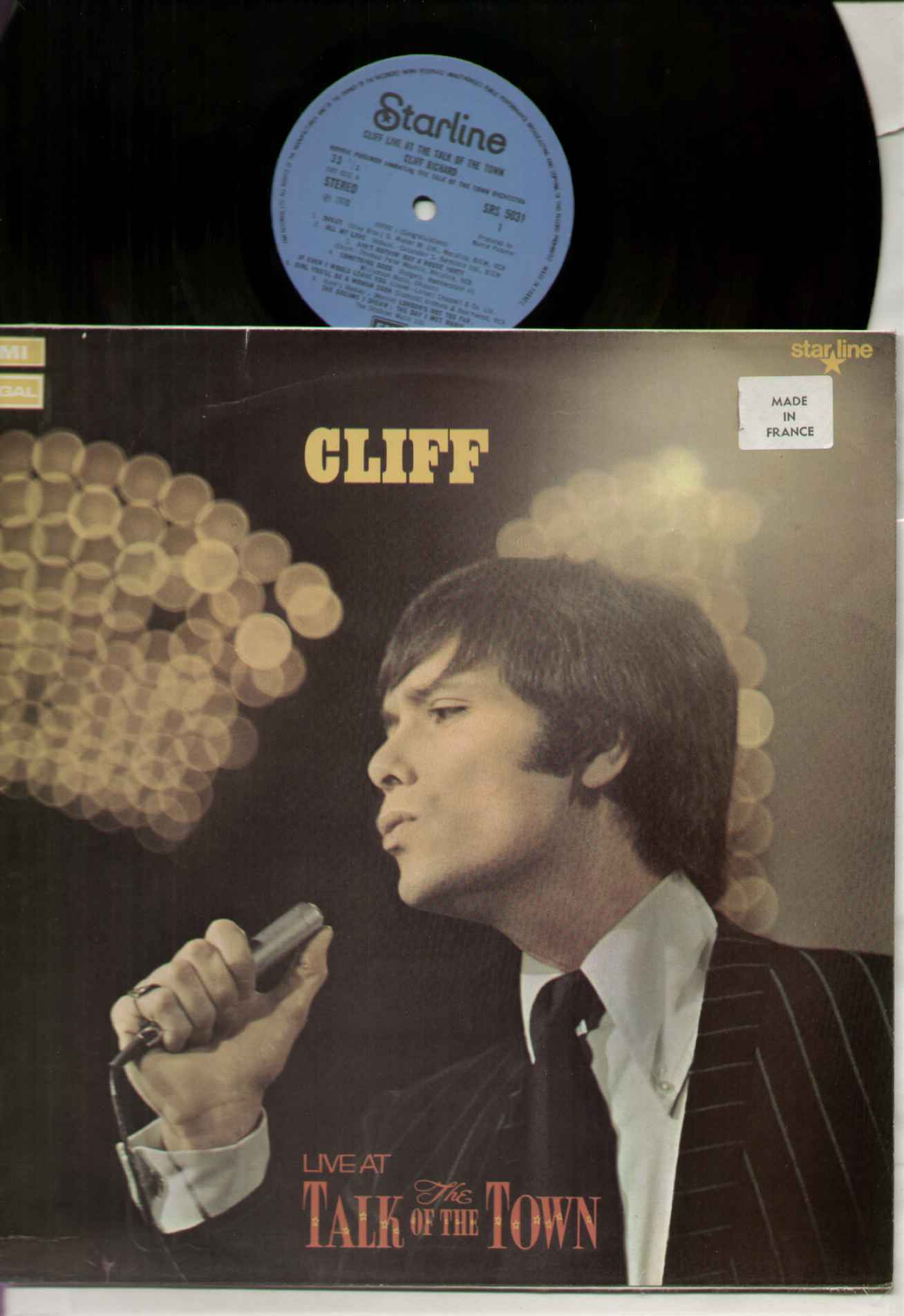 Cliff Richard - Live At Talk Of The Town Album