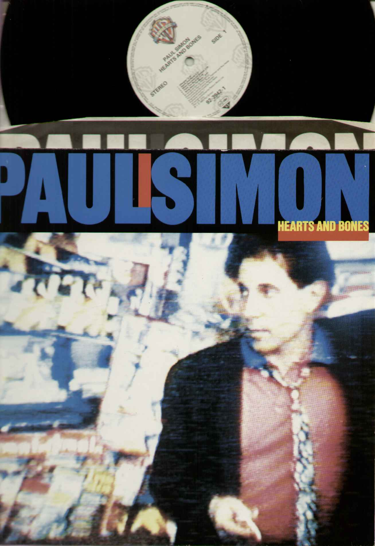 Paul Simon Hearts+And+Bones LP