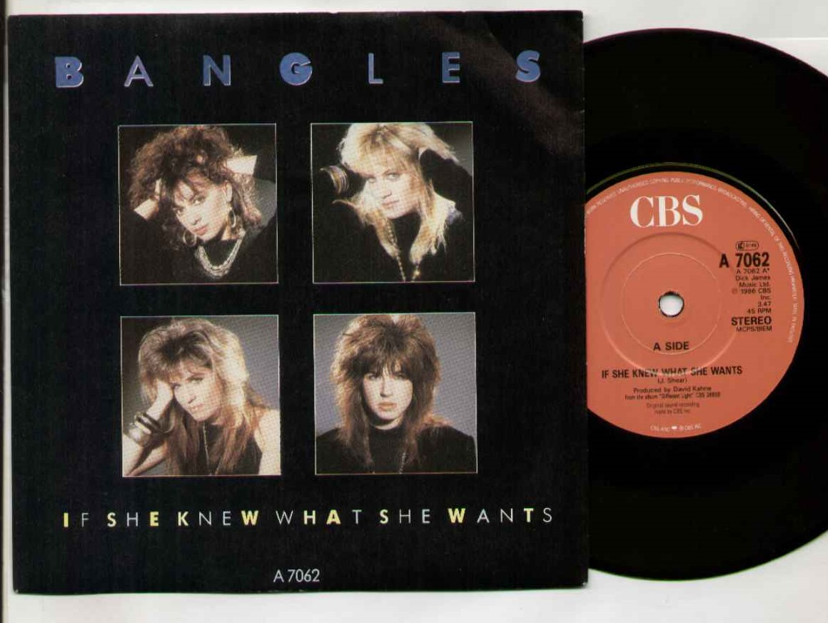 Bangles - If She Knew What She Wants Album