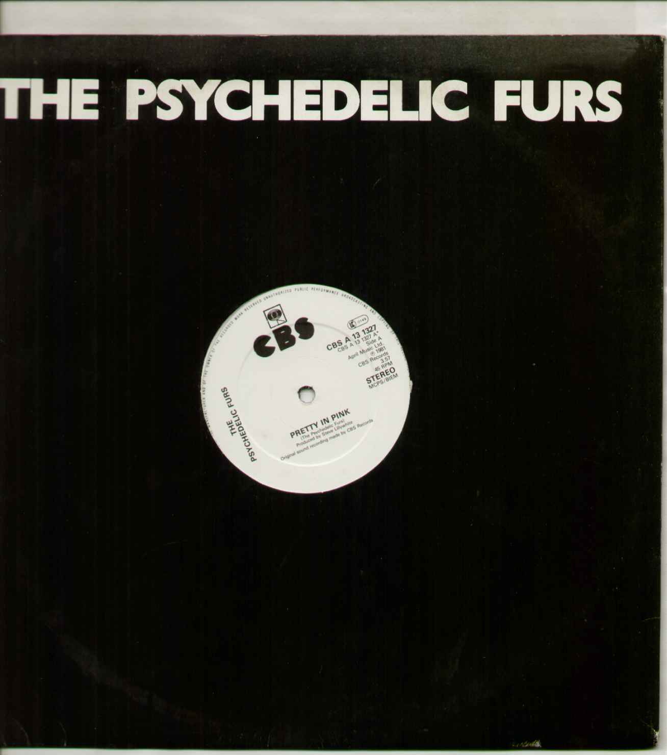 Psychedelic Furs Pretty+In+Pink 12''