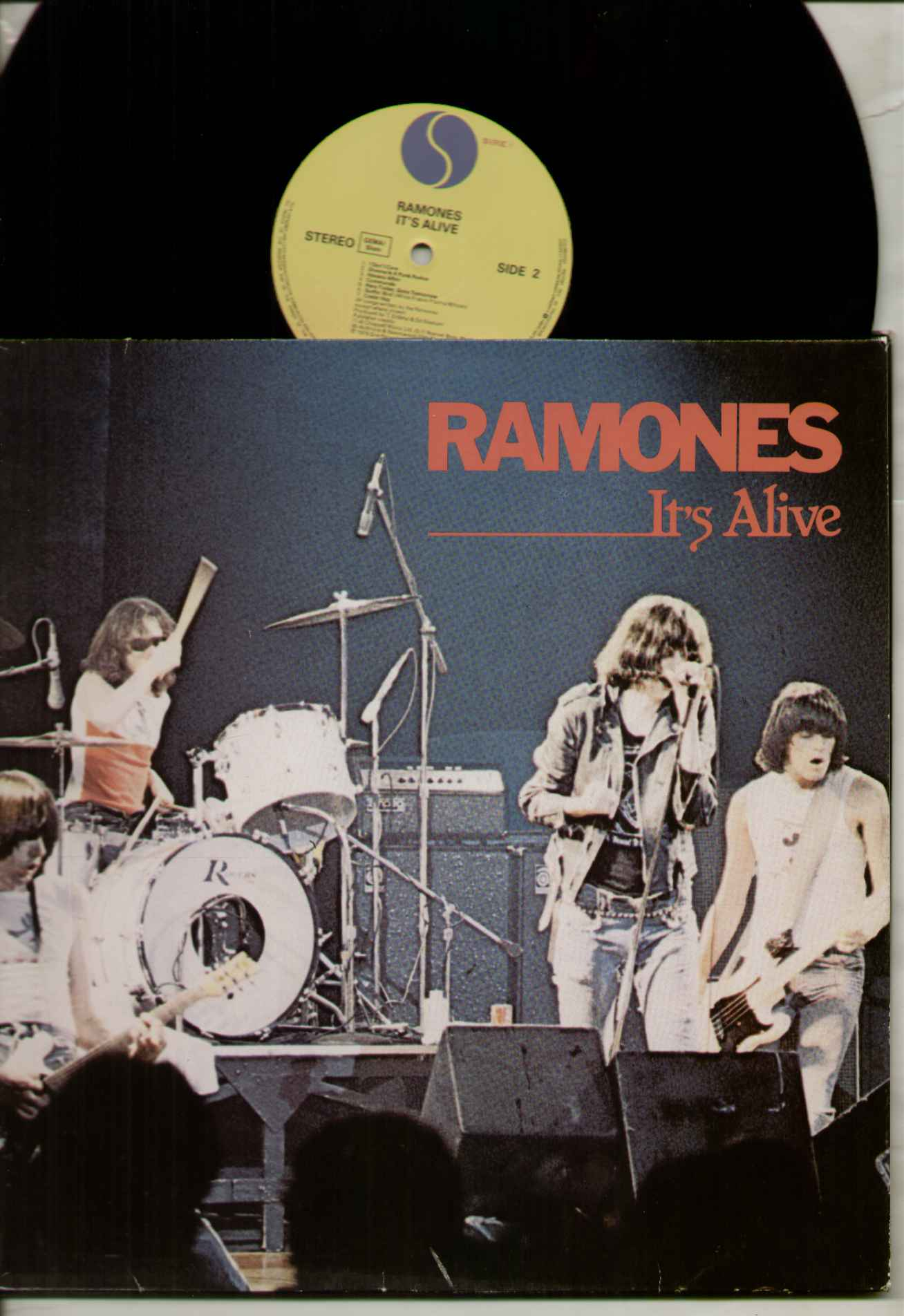 Ramones It's+Alive LP