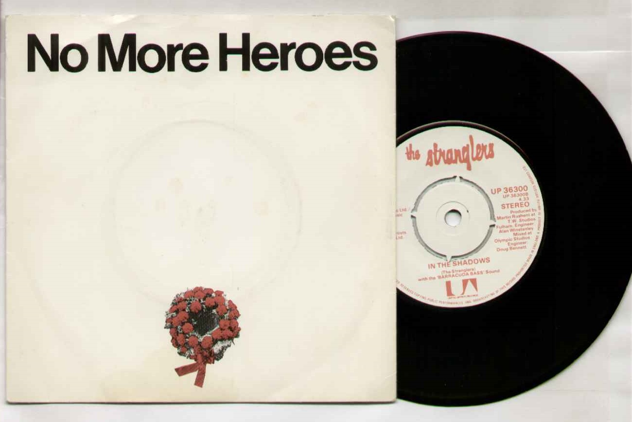 Stranglers - No More Heroes (7 Inch Single)