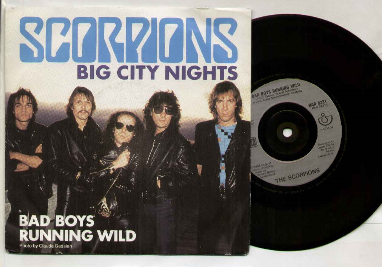 Scorpions Big+City+Nights 7''