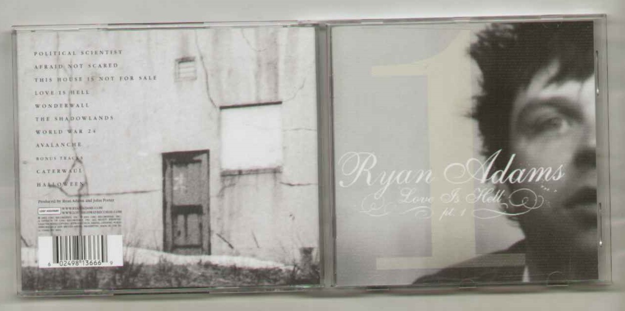 RYAN ADAMS - Love Is Hell ( Part 1 )