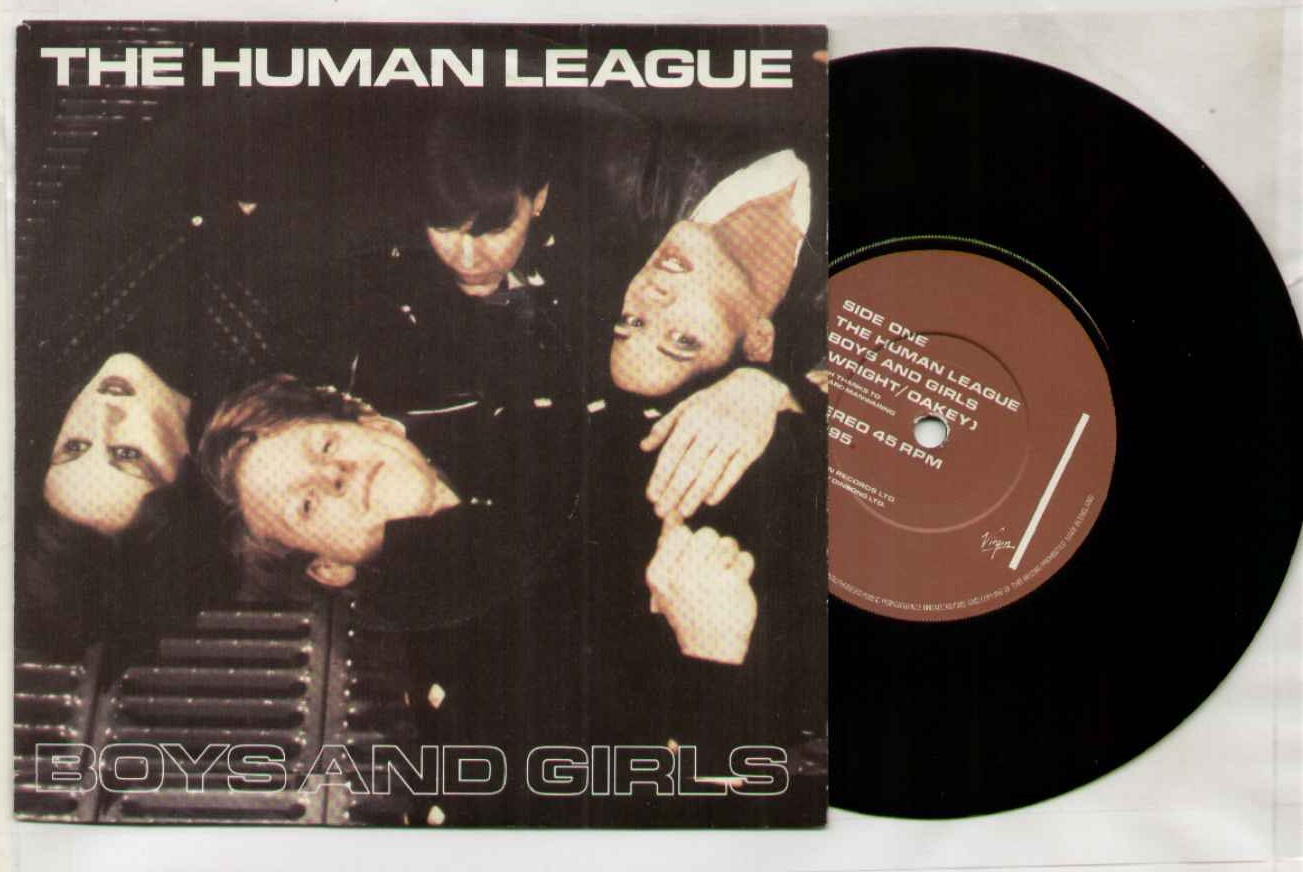 Human League - Boys And Girls LP