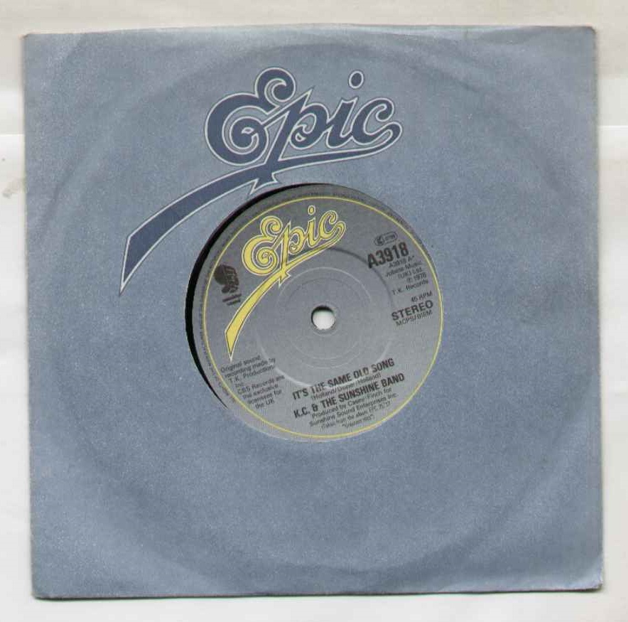 Kc And The Sunshine Band It's+The+Same+Old+Song 7''