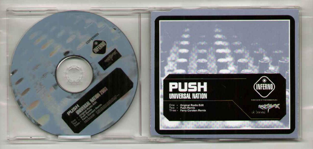 Push Universal+Nation CD
