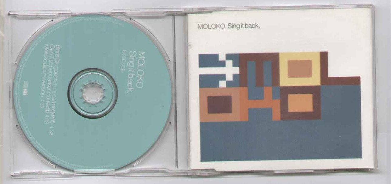 Moloko Sing+It+Back CD