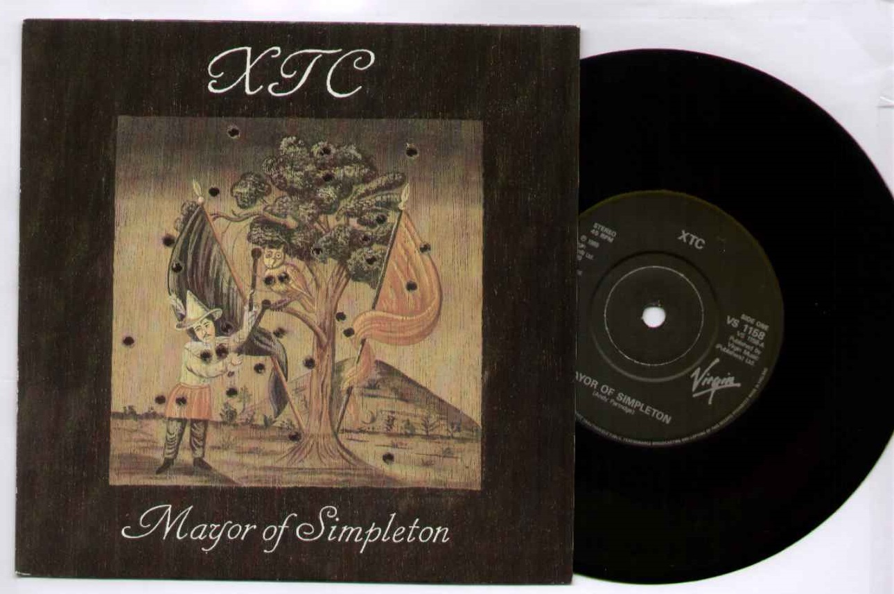 Xtc Mayor+Of+Simpleton 7''