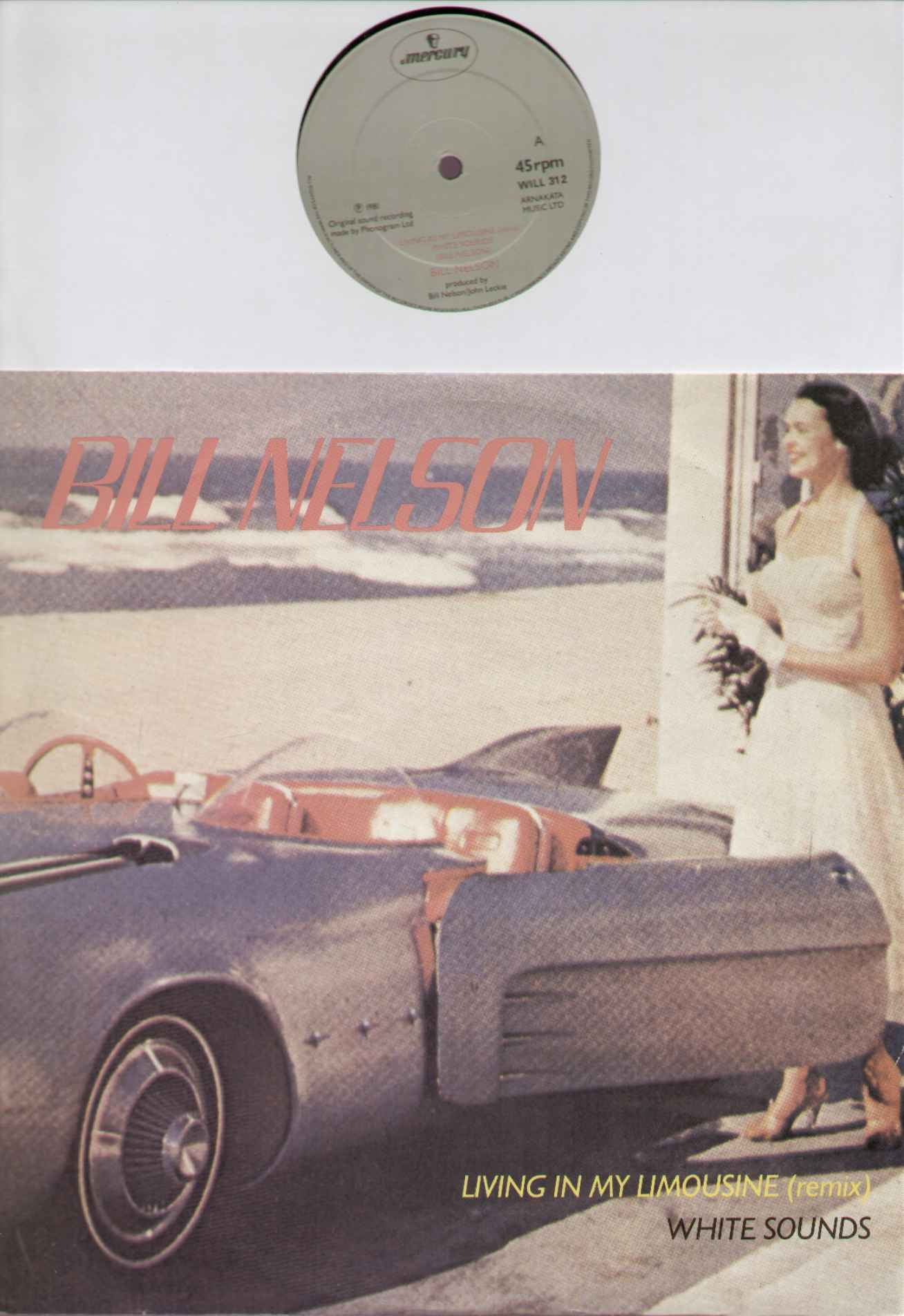 Bill Nelson Living+In+My+Limousine 12''