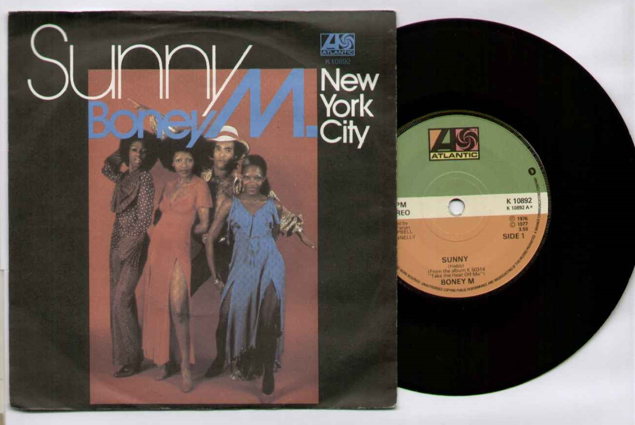 Boney M Sunny 7''