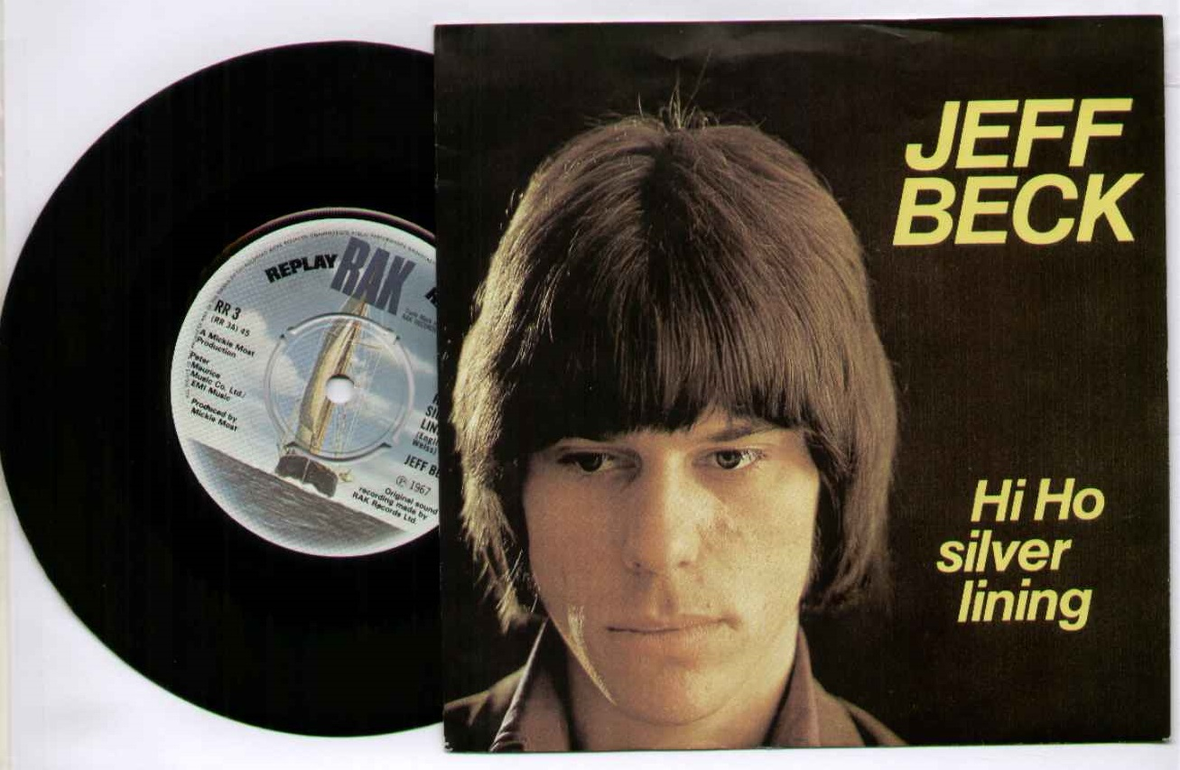 Jeff Beck Hi+Ho+Silver+Lining 7''