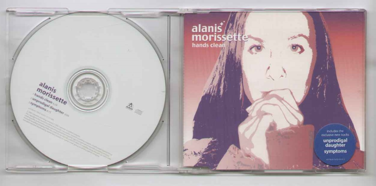 ALANIS MORISSETTE - Hands Clean - CD