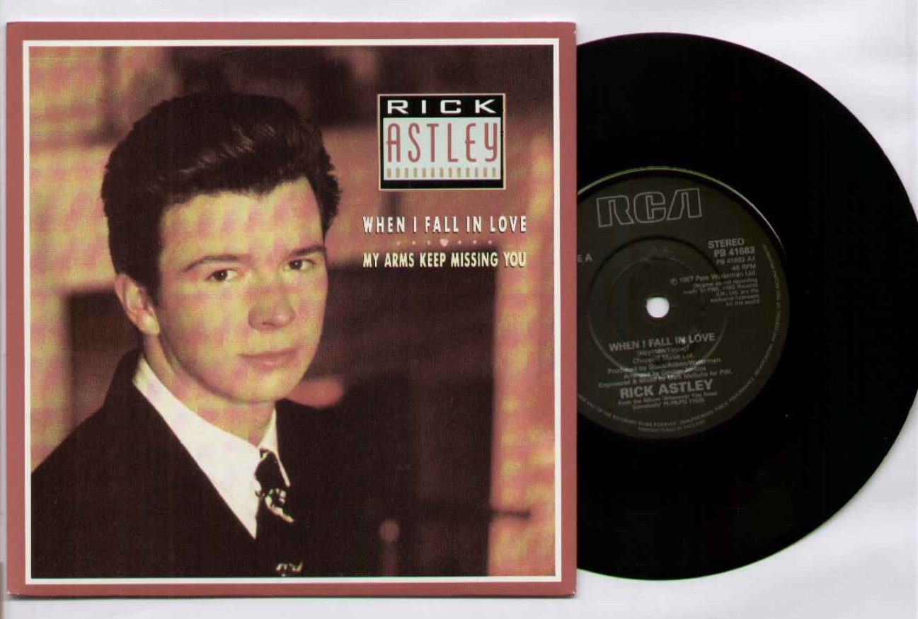 Rick Astley When+I+Fall+In+Love 7''