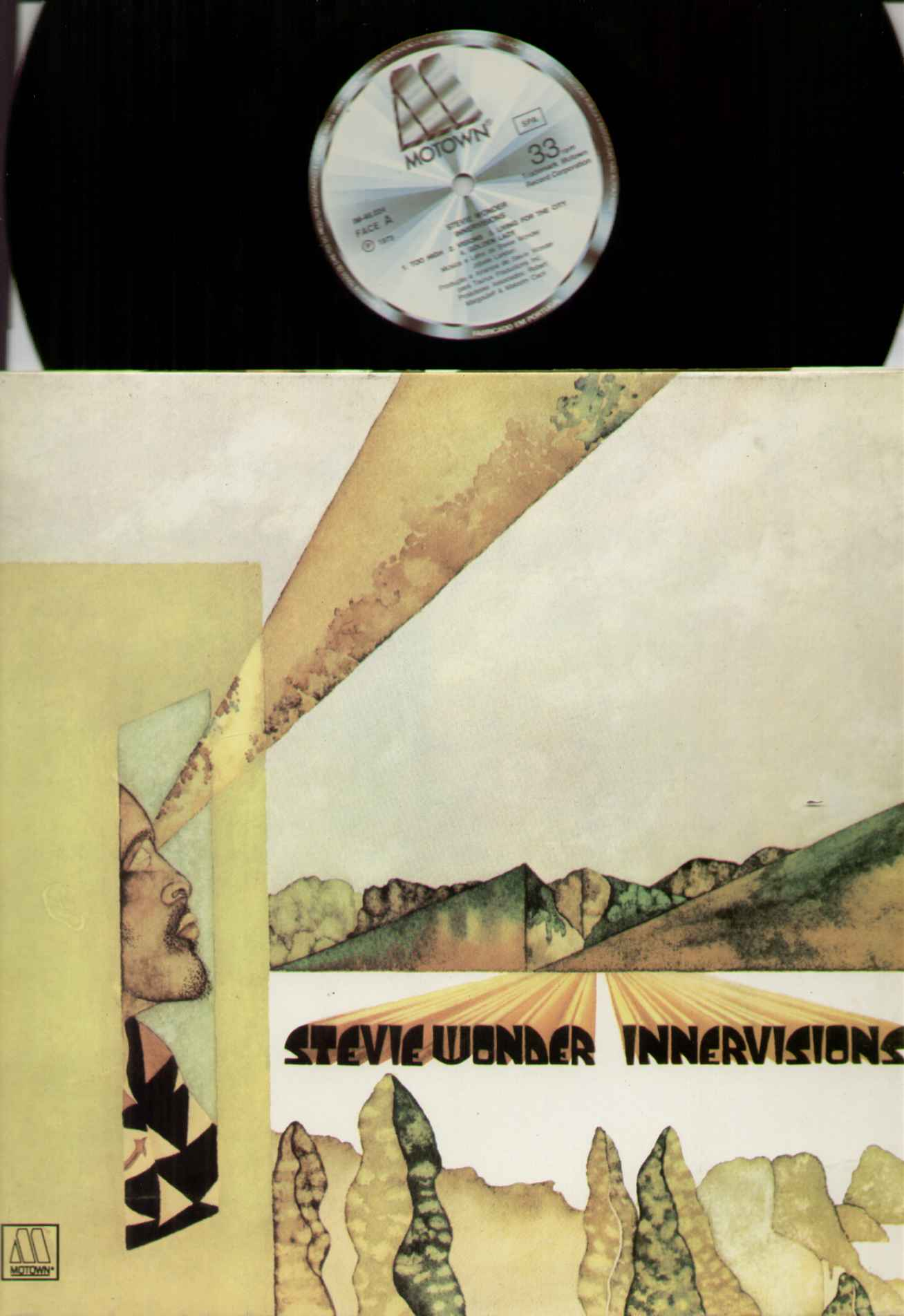 Stevie Wonder Innervisions Records Vinyl And Cds Hard
